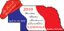 Official Logo of the 2010 USAD National Finals