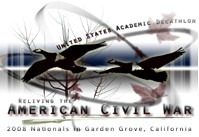 Official Logo of the 2008 USAD National Finals